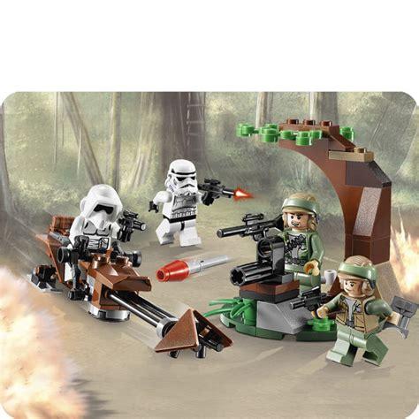 Best Produk Lego 9489 Endor Rebel Trooper Imperial Trooper Battl lego wars endor rebel trooper imperial trooper battle pack 9489 toys thehut
