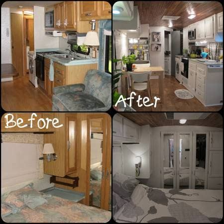 renovated rv rv renovation pictures tiny house ideas pinterest
