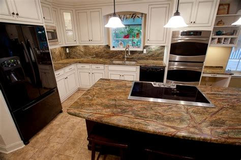Best Price On Kitchen Cabinets by Stone Profile Rainforest Brown Granite Amp Rainforest Green