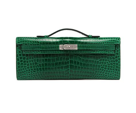 Hermes Ebay Alert With Hermes Green Porosus Crocodile Constance Handbag by Hermes Emerald Shiny Porosus Crocodile Cut Hermes