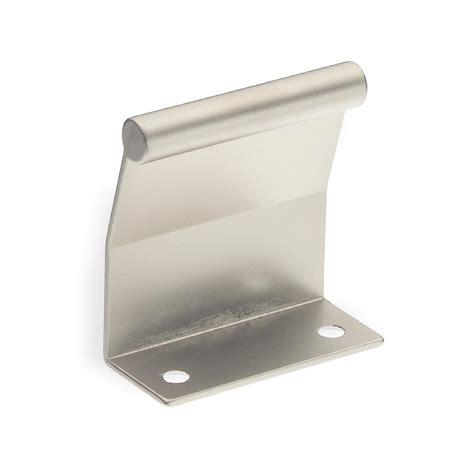 tab pulls cabinet hardware 2361 series 1 1 4 in satin nickel tab cabinet pull 51396