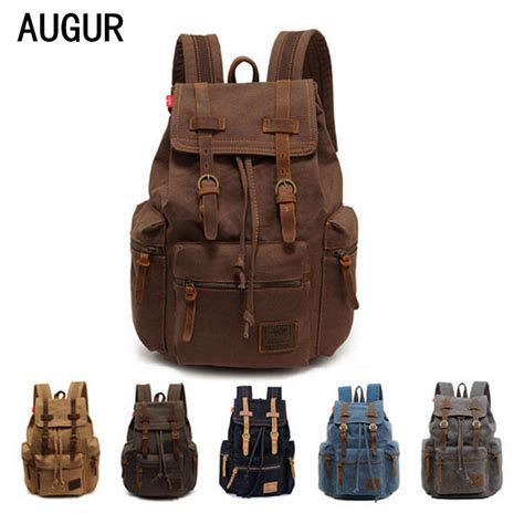 Tas Ransel Backpack Moustache Bag Murah augur tas ransel canvas school backpack black