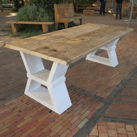 stijgerhouten eettafel steigerhouten eettafel jean een moderne designtafel met