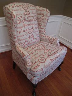 shabby chic slipcovers for wingback chairs wingback arm chair with a wood frame and floral print
