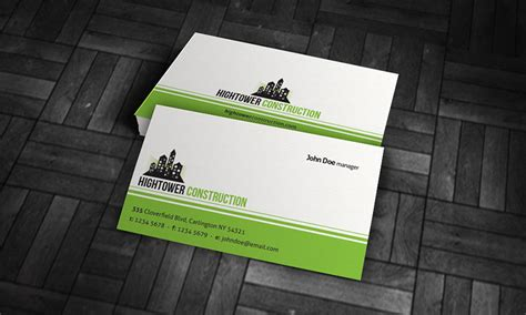 simple corporate business card template 187 free download