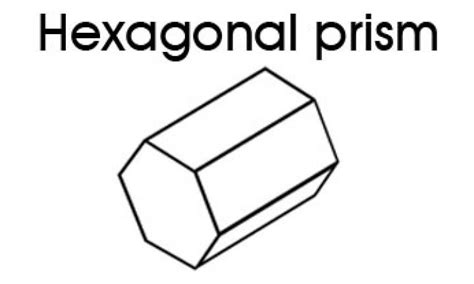 How To Make A Hexagonal Prism Out Of Paper - 3d shapes for hexagonal prism kidspot