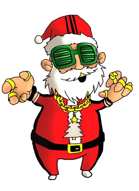 hip hop santa by richard chin on deviantart