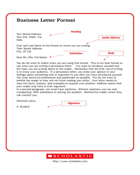 business letter format pages 2018 business letter template fillable printable pdf