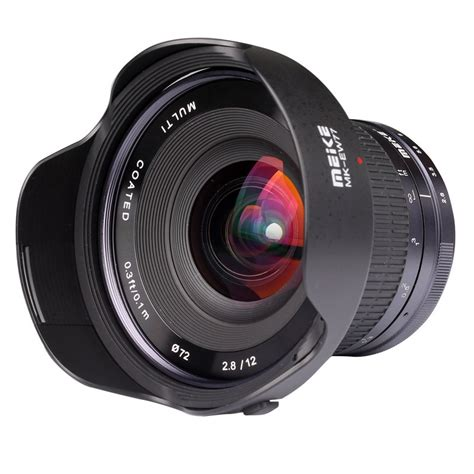 mirrorless lens meike 12mm f 2 8 wide angle lens for mirrorless cameras