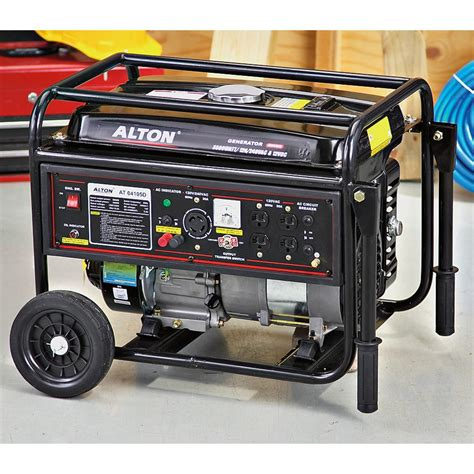 alton 174 3 500w power generator 182145 portable