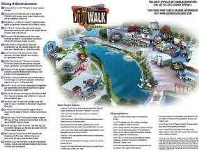 Citywalk Orlando Map by Universal Orlando Maps