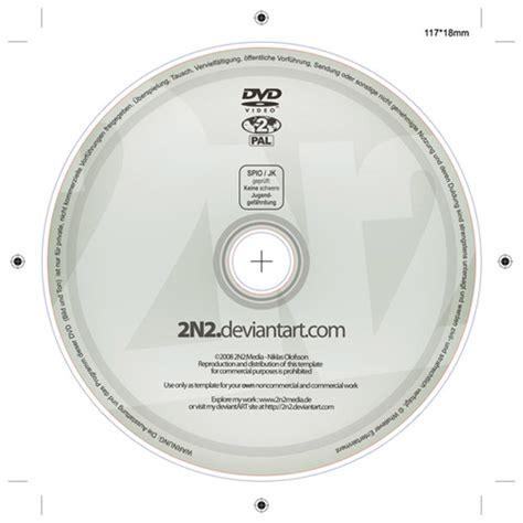 Dvd Label Psd Template By 2n2 On Deviantart Dvd Template Illustrator