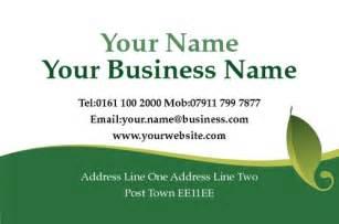 gardening business cards templates print templates printing