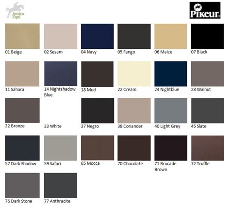 anthracite color chart pictures to pin on
