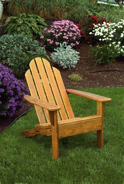 Wooden Patio Chairs Amish Patio Pine Wood Kennebunkport Chair