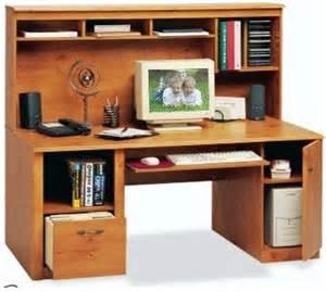 O Sullivan Computer Desk O Sullivan 10437 Odessa Pine Workcenter Gardens Collection Computer Workcenter