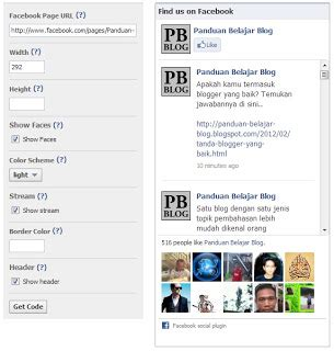 membuat robot like facebook cara membuat facebook like box di blog makarisme