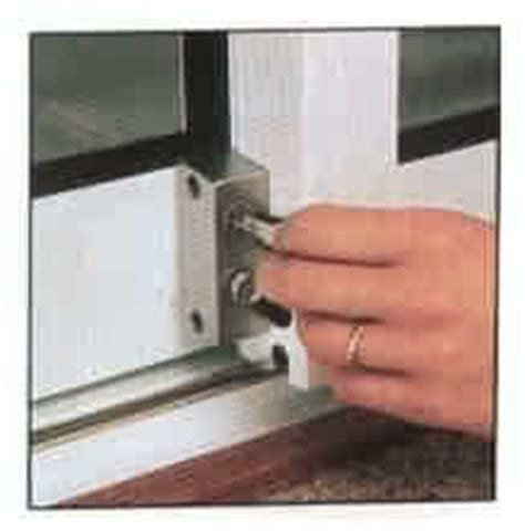 How To Open A Locked Patio Door by Patio Door Security Ace Glass
