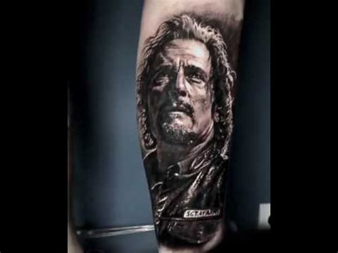 sons of anarchy clay tattoo removal sons of anarchy tig trager