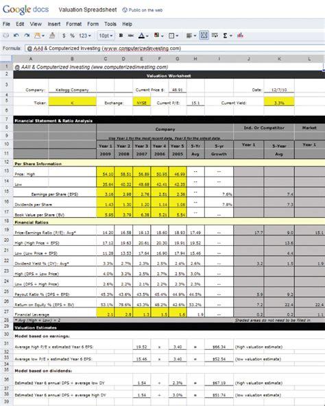 Spreadsheet Program by Spreadsheet Programs