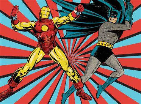 marvel dc comics iron man