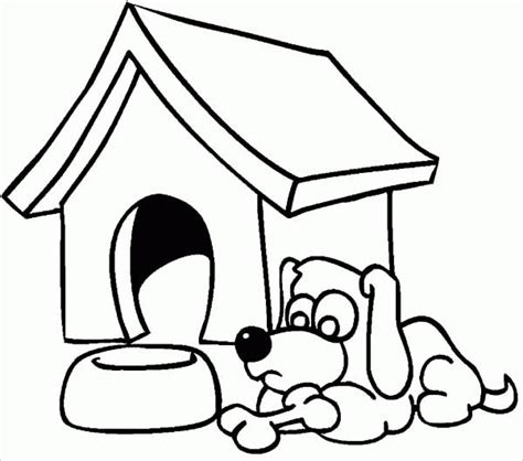 dog house coloring page printable 91 coloring pictures of dog houses man in doghouse