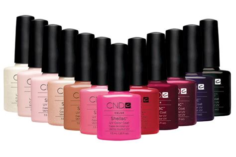 shellac colors shellac nails certified cnd shellac nail salon