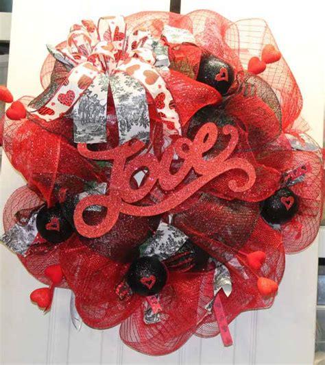 super beautifuly sweet wreaths ideas  valentines days