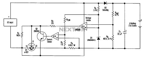 lithium battery charger schematic gt power supplies gt chargers gt 2 5 cell lithium battery