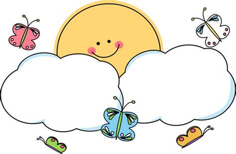 You Are My Sunshine Decorations Soleil Clipart Soleil Et Nuages Papillons