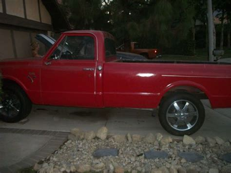 Wheels Chevy Panel 698 find used 1969 chevy c10 20 inch wheels chrome door panels carpet bumbers and more in