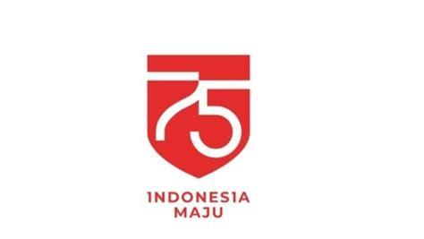 bertema indonesia maju  logo hut   ri
