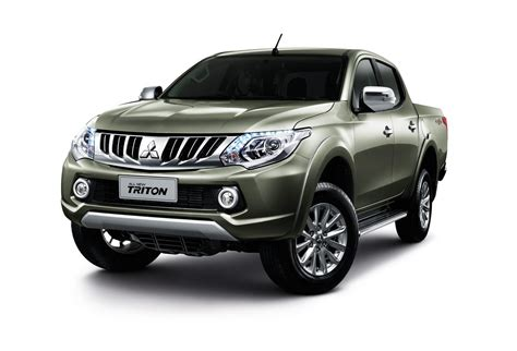2015 Mitsubishi Triton L200 Debuts In Thailand Video