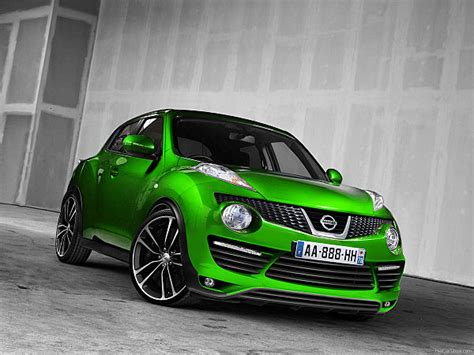 green nissan juke best tuning nissan juke modif wide body airbrush
