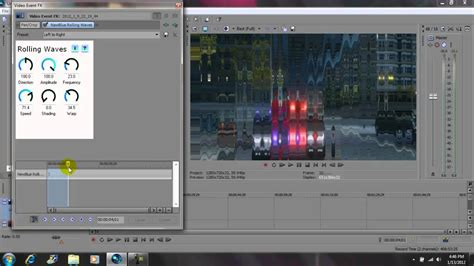 effect 11 wave text sony vegas tutorial youtube newblue fx rolling waves effect tutorial for sony vegas
