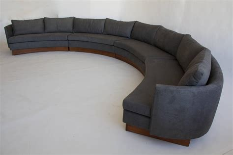 custom semi circular sectional by carson s of