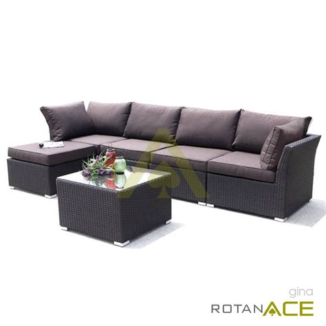 Sofa Minimalis Ace Hardware jual sofa l sudut rotan meja harga lebih murah