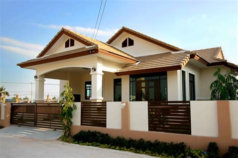 free home design beautiful bungalow house home plans and designs with photos