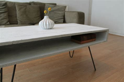 Hairpin Leg Coffee Table Coffee Table With Hairpin Legs In Solid White