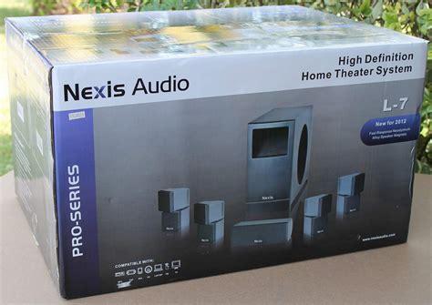 nexis audio   home theater hd surround speaker system