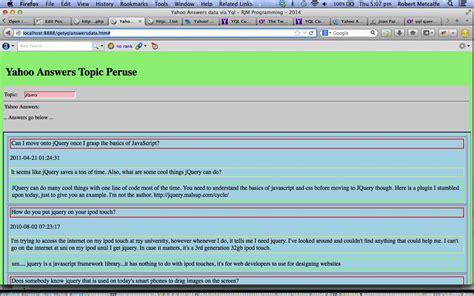 membuat web service json dengan php yahoo yql web service json followup tutorial robert