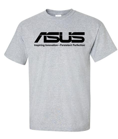Tshirt Asus Logo asus computer inspiring innovation logo graphic t shirt