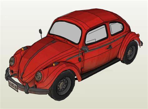 volkswagen classic models papermau classic volkswagen type 1 quot fusca quot paper model