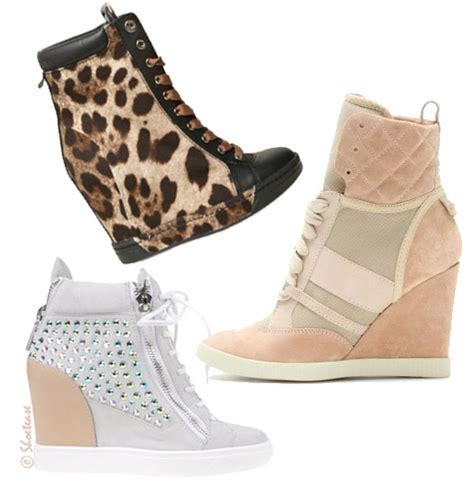 shoe trend alert wedge sneakers for 2012 shoes