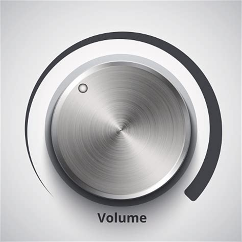 Volume Knob by Lifier Clip Vector Images Illustrations Istock