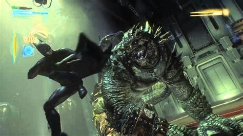 killer croc vs nightwing batman and nightwing vs killer croc batman arkham