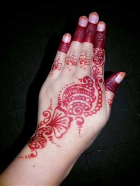 henna tattoo in bali simple henna design looovee it picture of henna