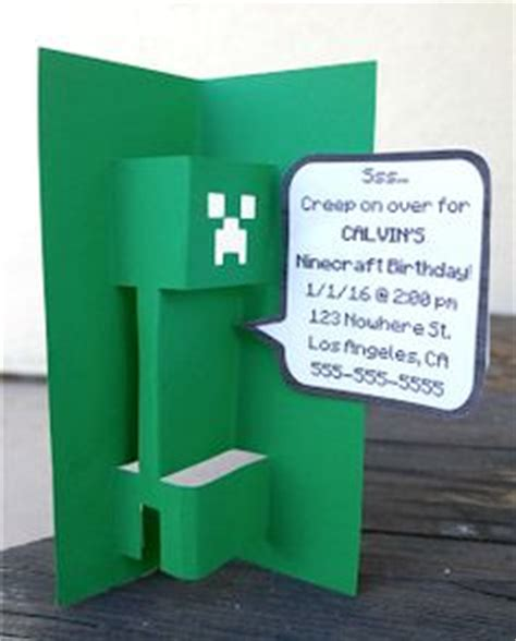 be mine card template 1000 ideas about minecraft birthday card on