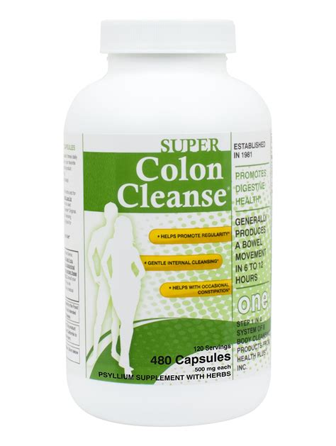 Colon Cleansing Detox by Health Plus Colon Cleanse Powder