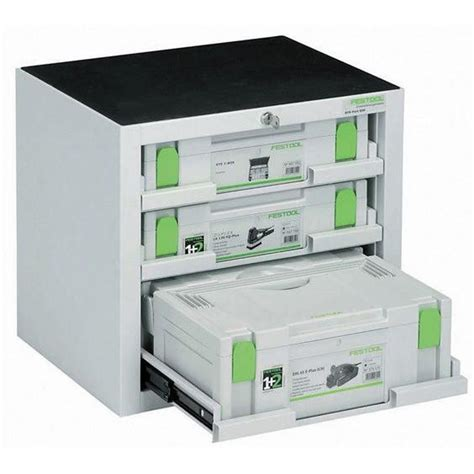 Festool Kitchen Cabinets by Festool 491921 Sys Port 500 2 Systainer Storage Cabinet